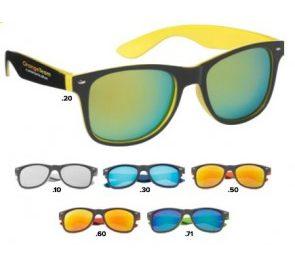Zonnebrillen laten drukken